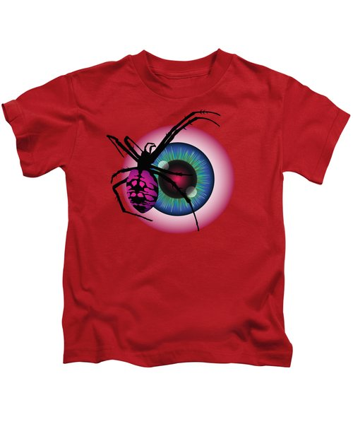The Eye Of Fear Kids T-Shirt by MM Anderson