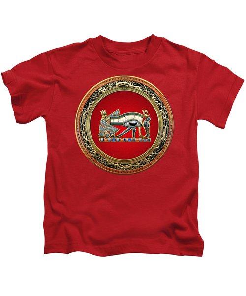 The Eye Of Horus Kids T-Shirt