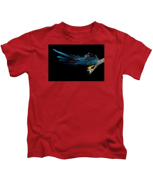 The Fine Art Of Preening Kids T-Shirt