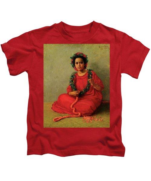 The Lei Maker Kids T-Shirt