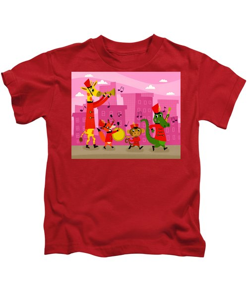The Marching Band Kids T-Shirt