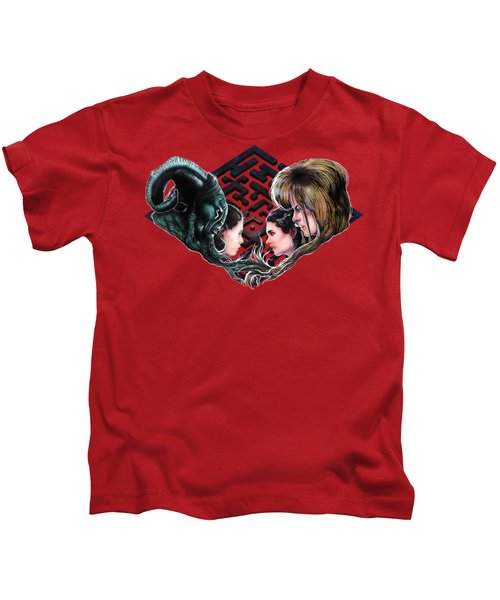 The Maze Makers  Kids T-Shirt