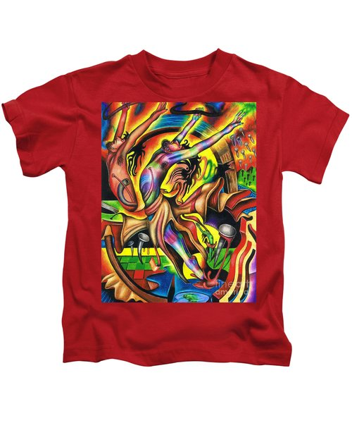 The Numinous Spectrum Of Exaltation Kids T-Shirt