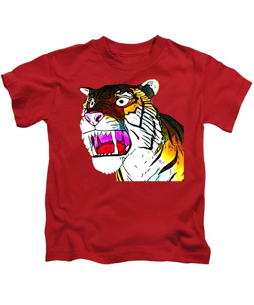 The Tiger Roars Kids T-Shirt