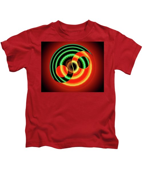 The Yin And The Yang Kids T-Shirt