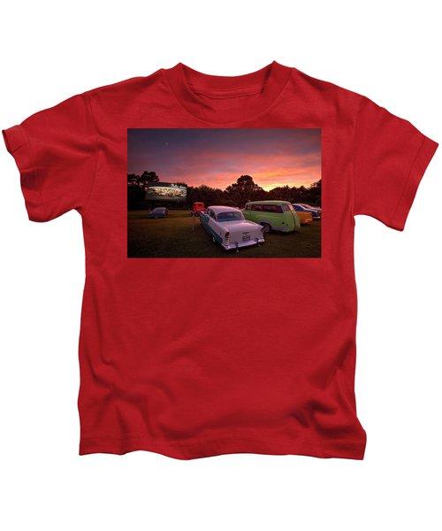 Those Summer Nights Kids T-Shirt