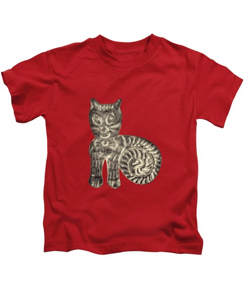 Tin Cat Kids T-Shirt