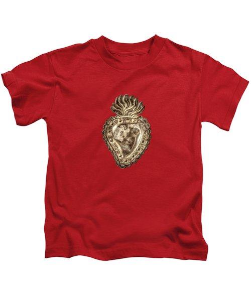 Tin Heart Kids T-Shirt