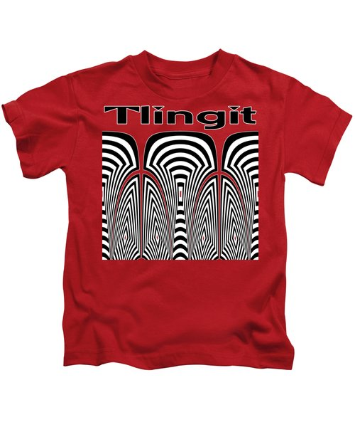 Tlingit Tribute Kids T-Shirt