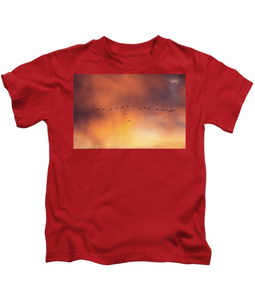 Towards The Sun Kids T-Shirt