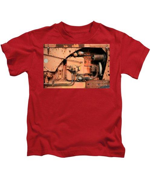 Tractor Engine V Kids T-Shirt