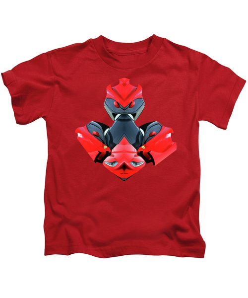 Transformer Car Kids T-Shirt