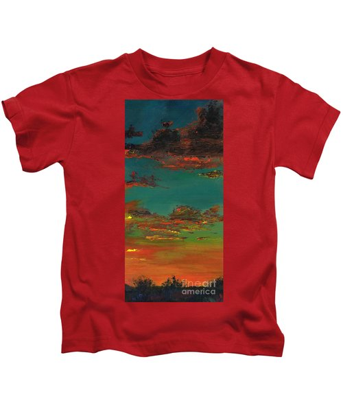 Triptych 3 Kids T-Shirt