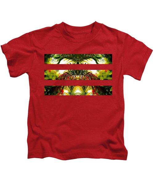 Tropical Kaleidoscope Kids T-Shirt