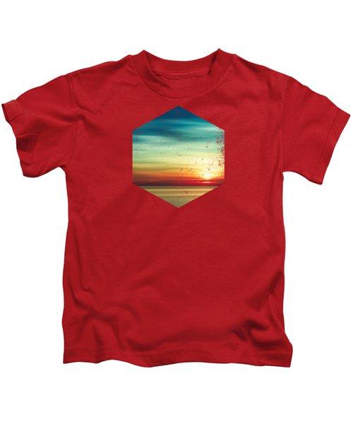 Tropical Sunset Kids T-Shirt
