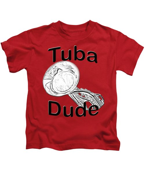 Tuba Dude Kids T-Shirt