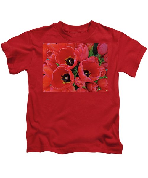 Tulip Parade Kids T-Shirt
