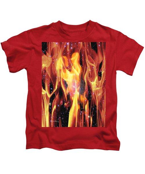 Twin Flames Kids T-Shirt