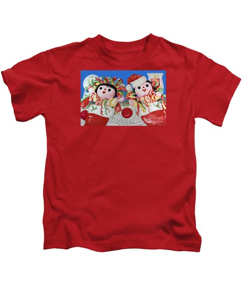 Twin Stockings Kids T-Shirt