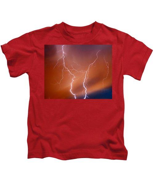 Twin Strike Kids T-Shirt