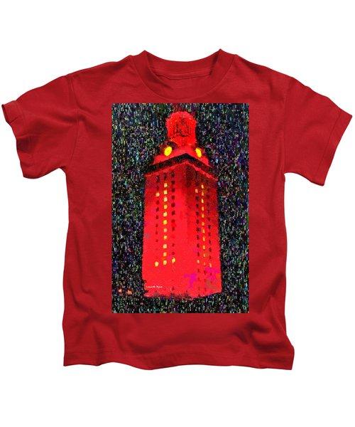 9ce7573da08 University Of Texas At Austin Tower 11 - Da Kids T-Shirt