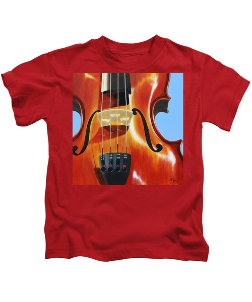 Violin Kids T-Shirt