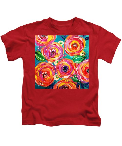 Vivid Flora Kids T-Shirt