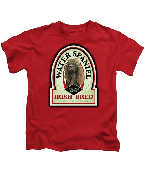 Water Spaniel Irish Bred Premium Lager Kids T-Shirt