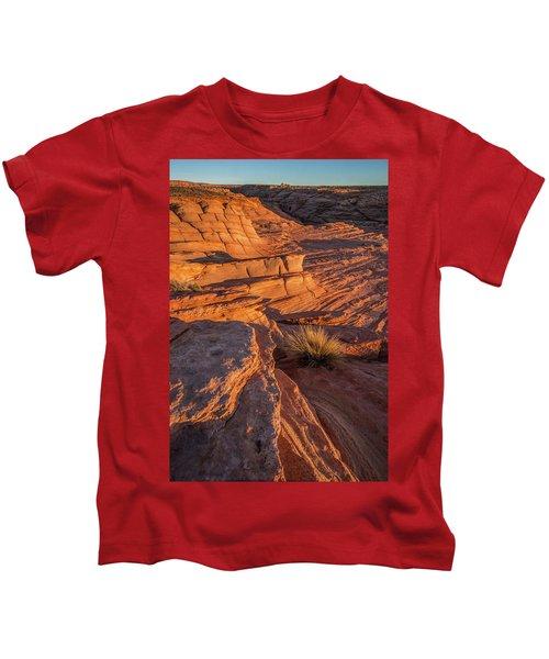 Waterhole Canyon Sunset Vista Kids T-Shirt