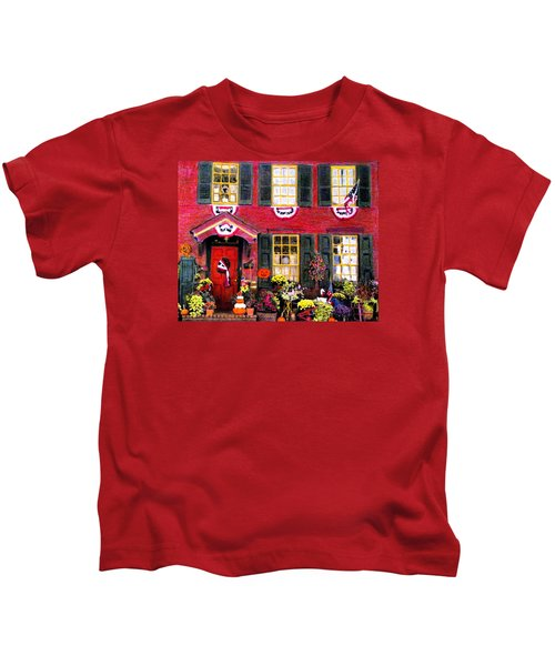 Welcome To Autumn Kids T-Shirt