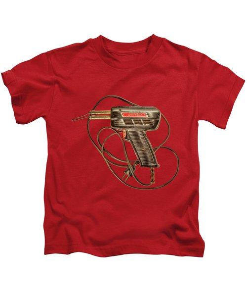 Weller Expert Soldering Gun Kids T-Shirt