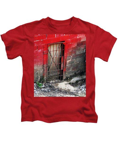What Lies Behind The Door Kids T-Shirt