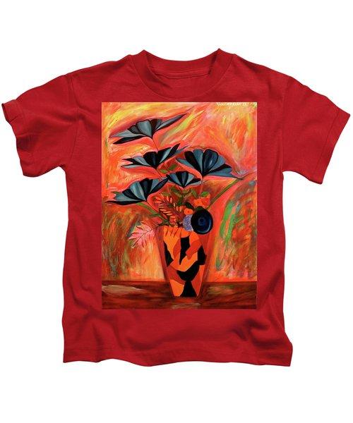 Wild Flowers  A Still Life  Kids T-Shirt