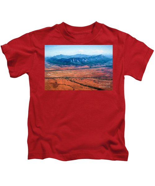 Wilpena Pound  Eh Kids T-Shirt