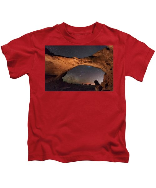 Windows To Heaven Kids T-Shirt
