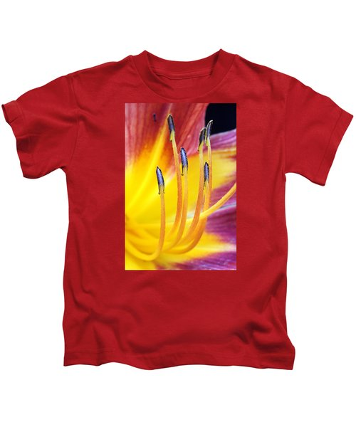 Yellow And Red Kids T-Shirt