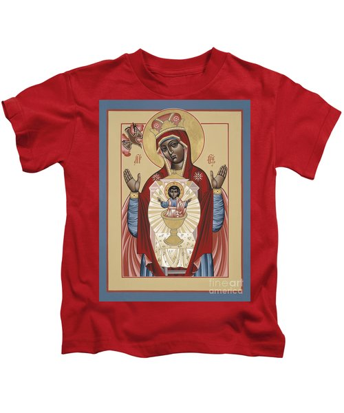 The Black Madonna Your Lap Has Become The Holy Table 060 Kids T-Shirt