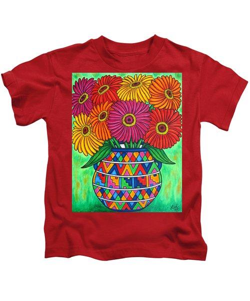 Zinnia Fiesta Kids T-Shirt