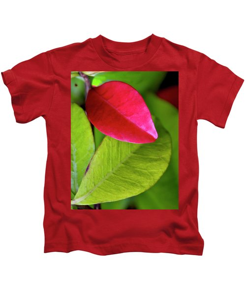Colours. Red Kids T-Shirt