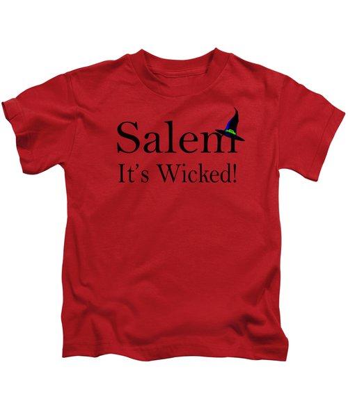 Salem It's Wicked Fun Kids T-Shirt