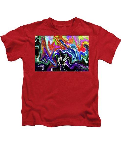 10-1-2008abcdefghij Kids T-Shirt