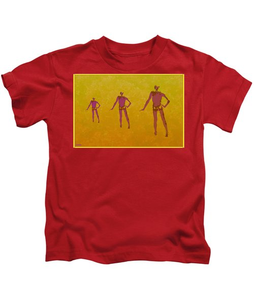 Male In Perspective Kids T-Shirt