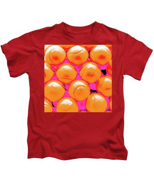 Pop Art Tennis Balls Kids T-Shirt