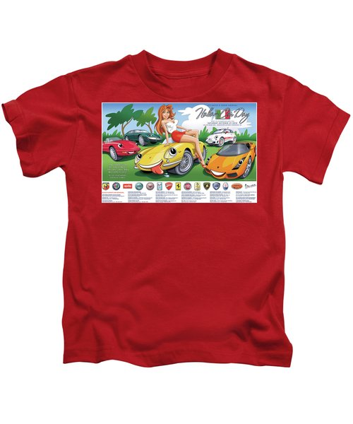 2018-2019 Atlanta Italian Car Day Poster Kids T-Shirt