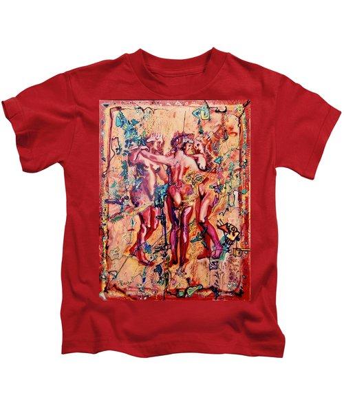 3 Virgins - Rubens, Airbrush 1990 Kids T-Shirt
