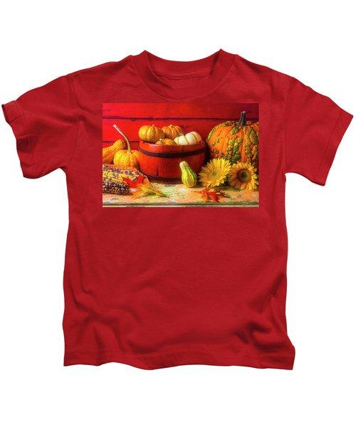 A Lovely Autumn Still Life Kids T-Shirt