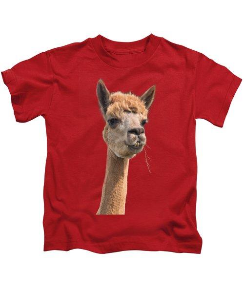 Alpaca Head Kids T-Shirt