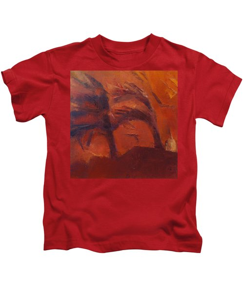 And Then One Day It All Went Up In Smoke Kids T-Shirt