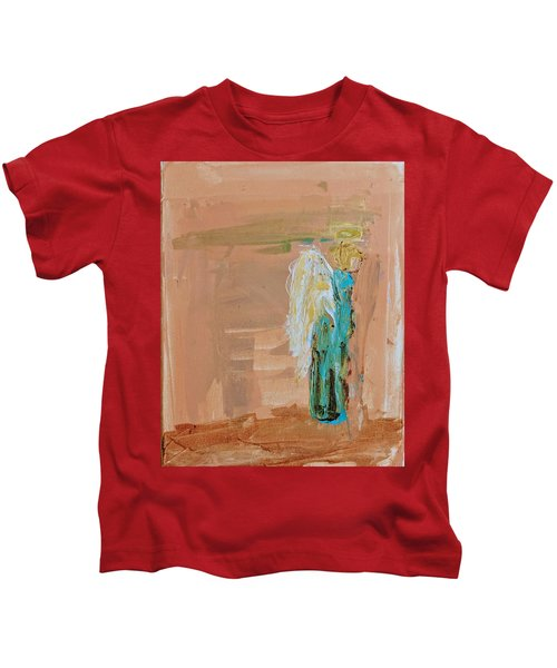 Angel Boy In Time Out  Kids T-Shirt