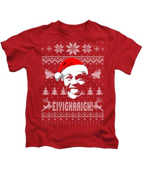 Arnold Schwarzenegger Christmas Shirt Kids T-Shirt